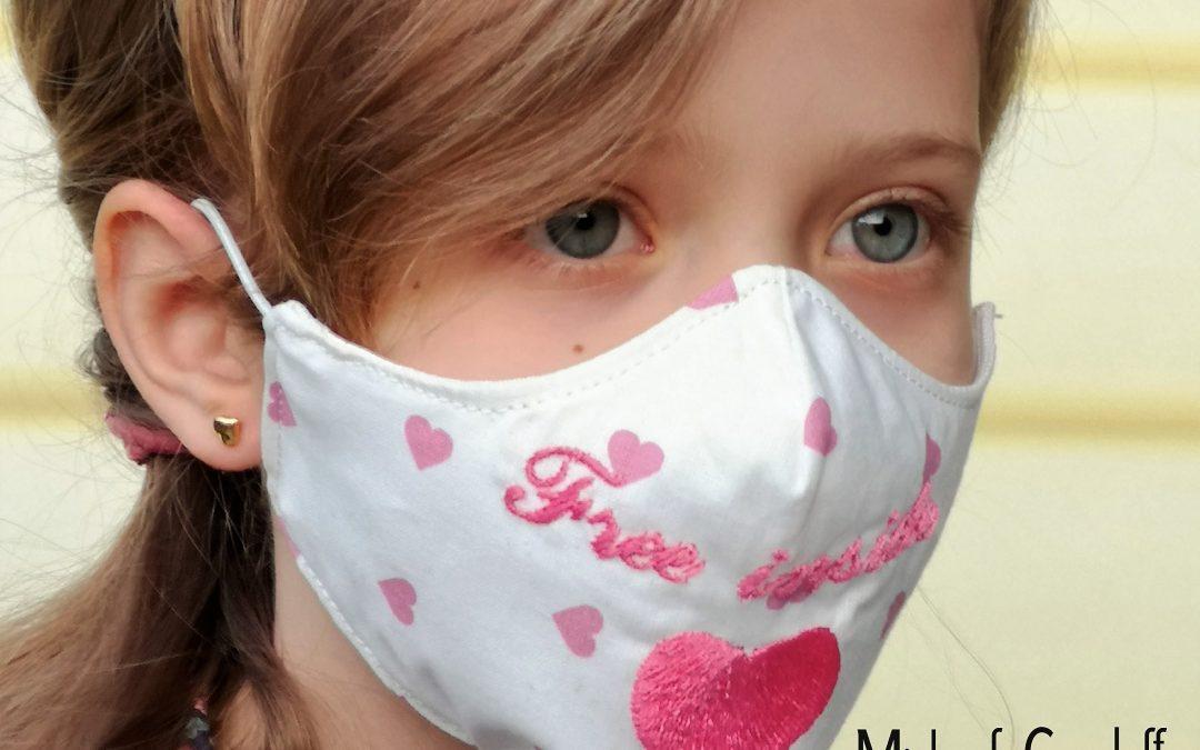 Mascherine protettive Fashion e di Moda per Bambini!