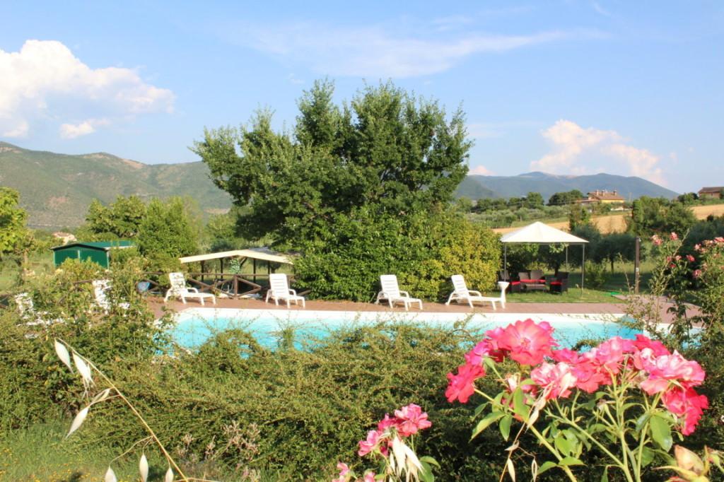 Struttura turistica con appartamenti e piscina a Terni