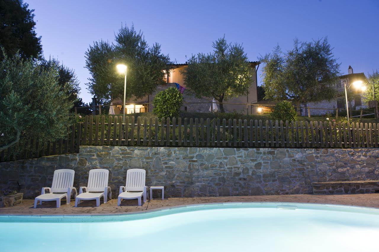 casa vacanza con piscina ad assisi