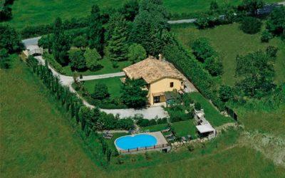 Casale per 15 persone per CAPODANNO ad Assisi