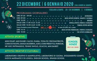 Vacanze di Natale al Christmas Campus per bambini al Flex Village di Foligno