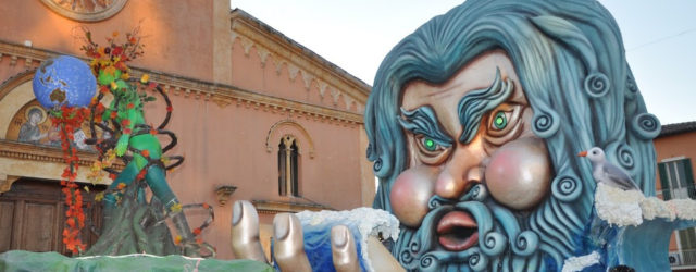 IL CARNEVALE DI SANT'ERACLIO, Sfilata di Carri Allegorici in Umbria