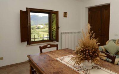 Epifania in Umbria in Casale con appartamenti vacanza nelle campagne di Terni