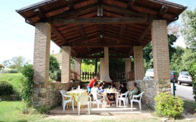 Pasqua in Umbria in casa vacanza per famiglie con giardino e barbecue