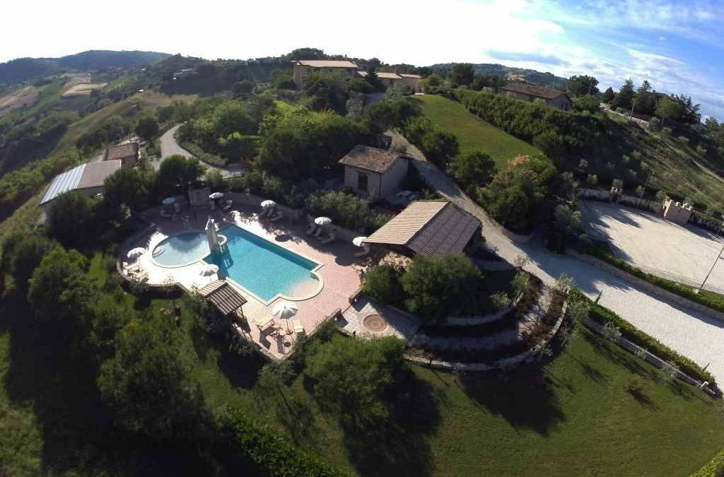 Agriturismo con piscina il Poggio di Gualdo Tadino