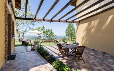 Pasqua in Umbria in casa vacanze panoramica con barbecue vicino Terni