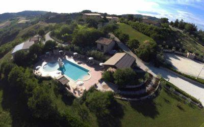 Weekend in agriturismo con piscina e sauna in Umbria