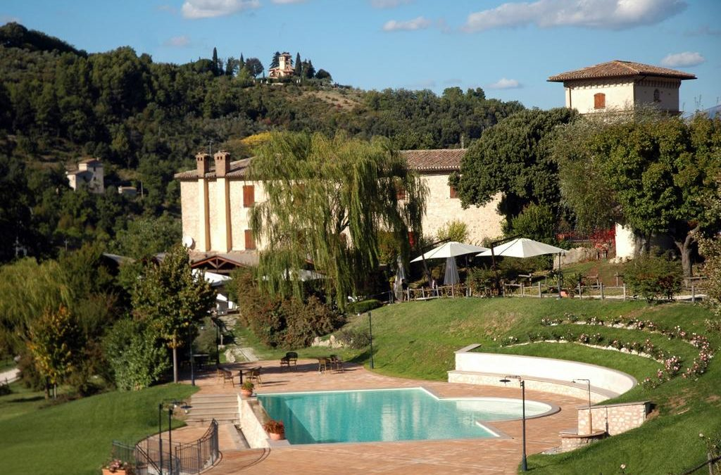 Country House con piscina salata a Spoleto