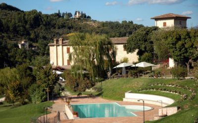 Country House with salt water swimming pool in Spoleto