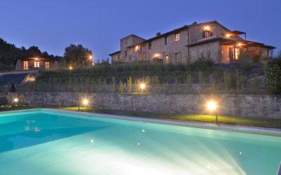 AGOSTO in Castello con Piscina e Fattoria Didattica in Umbria