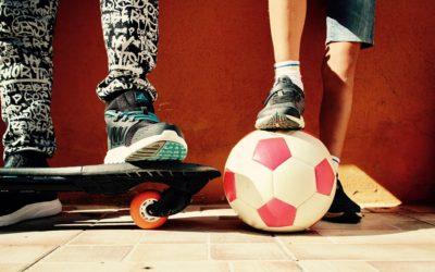 Ginnastica e sport da fare in casa con bambini