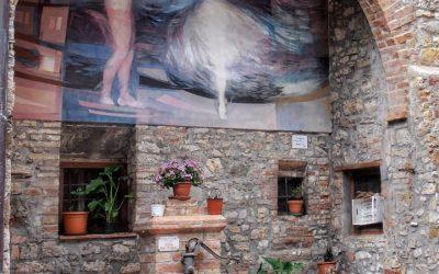 A spasso per Mugnano, paese dei muri dipinti, con i bambini!