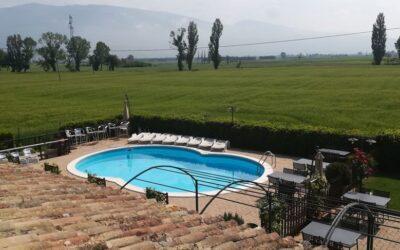 Offerta GIUGNO ad Assisi in casa vacanze con piscina e ristorante