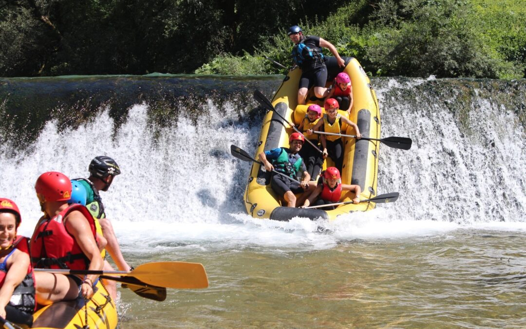RAFTING NOMAD: discese con bambini in Valnerina, Umbria