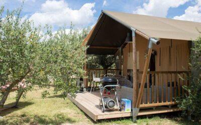 Vacanza in tenda con bambini al Bevagna Glamping in Umbria!