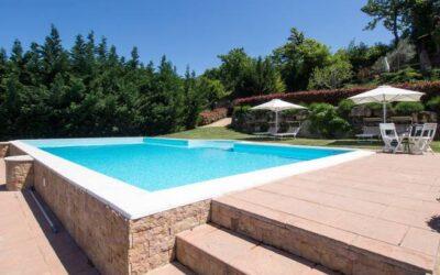 Lastminute LUGLIO in casa vacanze per famiglie con piscina vicino Terni