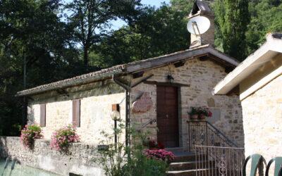 Visitare l'antico Mulino a Pietra con bambini a Spello, Umbria