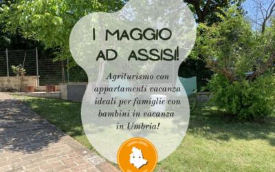 Ponte del 1 Maggio in agriturismo con appartamenti vacanza ad Assisi