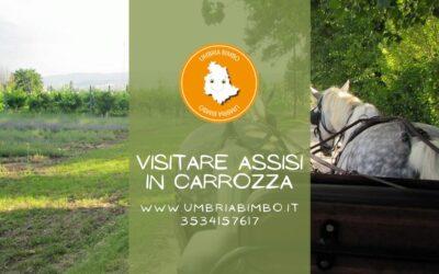 Visitare l'Umbria in carrozza con i bambini!
