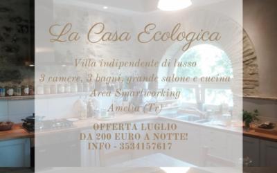 LUGLIO in Villa di Lusso in Paglia per 10 persone tra Umbria e Lazio