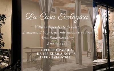 Offerta di PASQUA ecologica in Agriturismo nelle campagne di Terni
