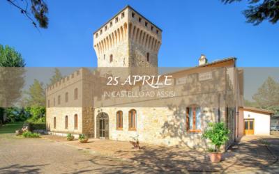 Ponte del 25 APRILE in Castello con Ristorante ad Assisi