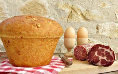 La colazione di Pasqua tipica umbra