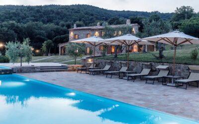 Villa privata di lusso con piscina tra Umbria e Toscana – La Tiberina