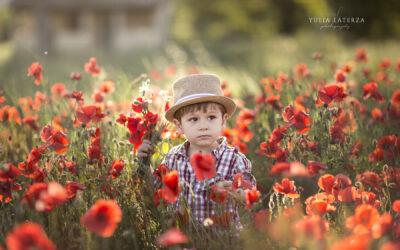 Fotografa professionista di bambini in Umbria – Yulia Laterza