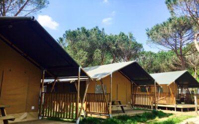 Lastminute GIUGNO in Tenda Safari per famiglie al Lago Trasimeno