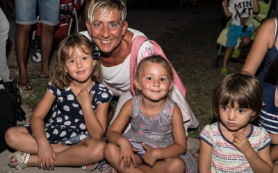 AGOSTO al Lago Trasimeno dormendo in Family Village!